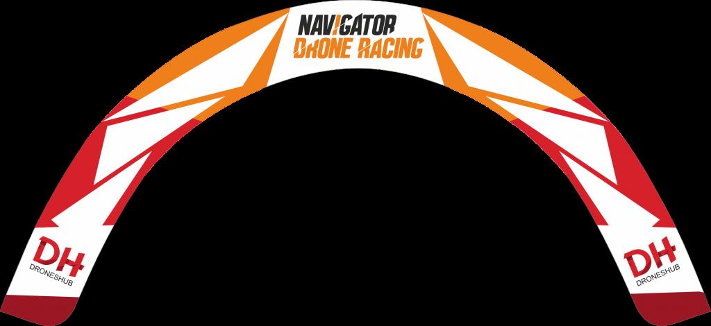 Vorota Navigator dron racing